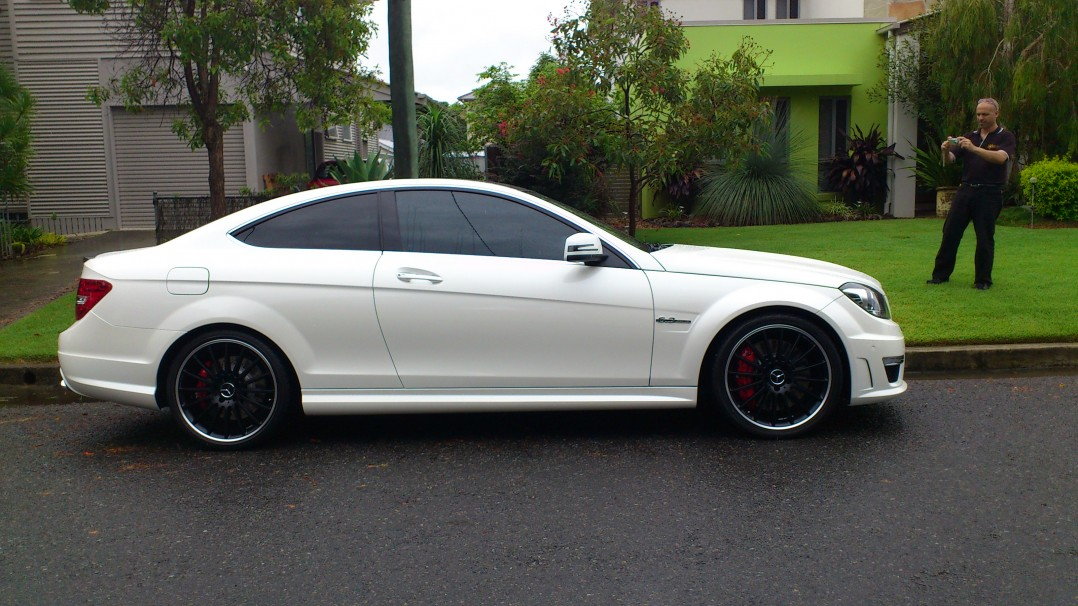 2012 Mercedes-Benz AMG C63 Coupe