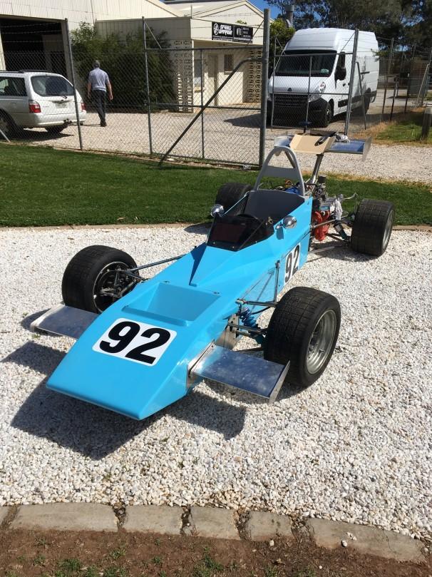 1974 ASP Formula 3 Historic