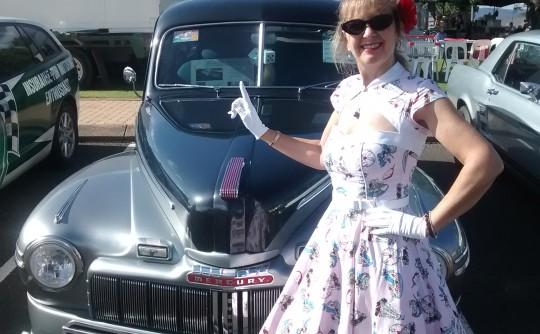 1946 Mercury Mercury eight Two door Town Sedan.