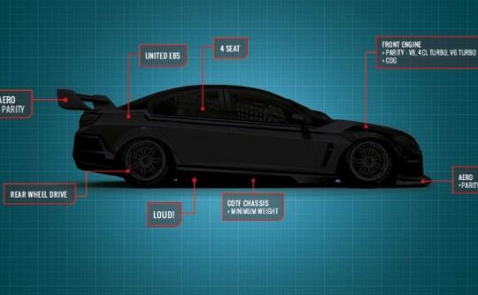 V8 Supercars blueprint for 2017 and beyond