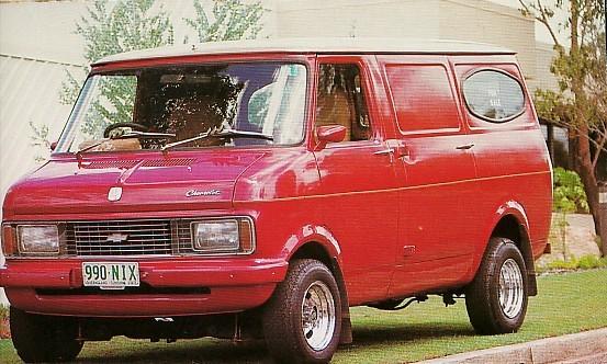 1971 Bedford CF