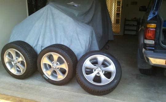 18x8 Boyd Wheels & tyres