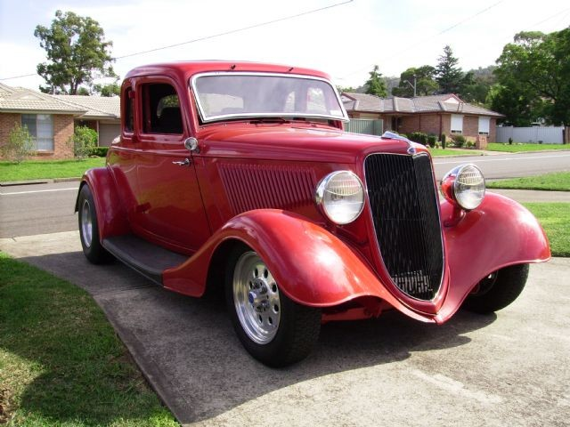 1934 Ford Five Window