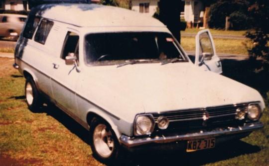 1967 Holden HR Van