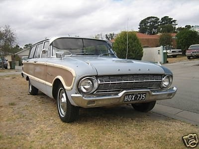 1963 Ford SQUIRE WAGON