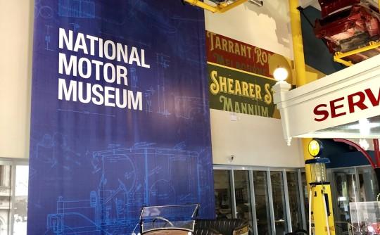National Motor Museum visit