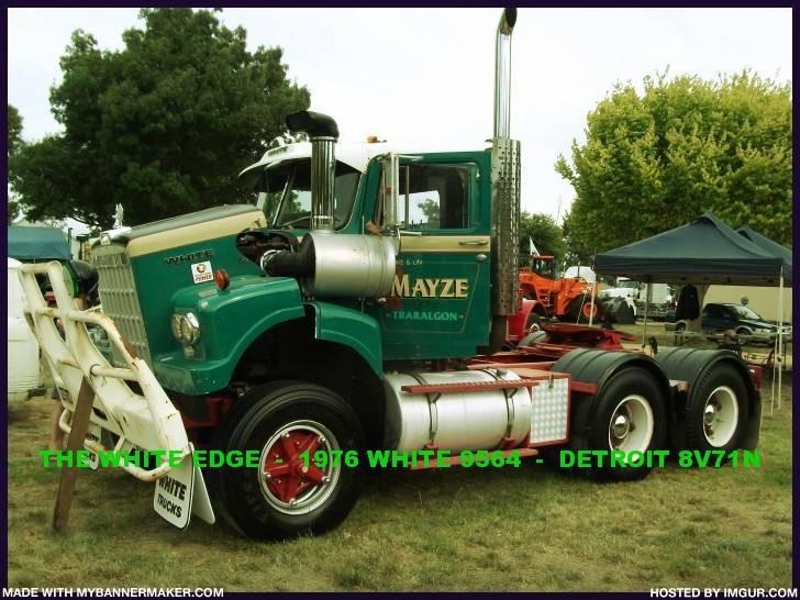 1976 WHITE 9564