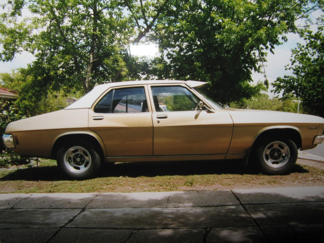1972 Holden HQ kingswood