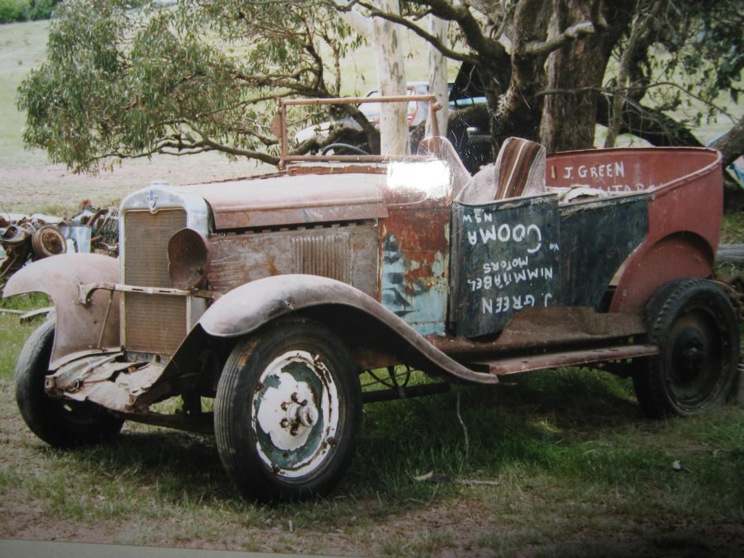 1929 Chevrolet international tourer