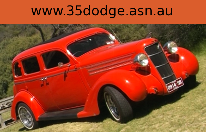 1935 Dodge Four Door Standard