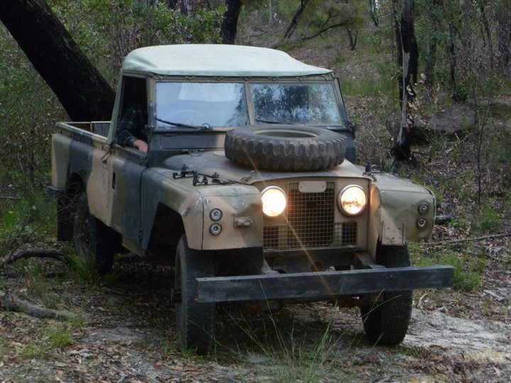 1964 ex army Land rover 2a