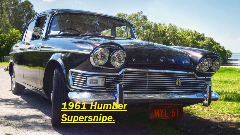 1961 Humber SUPER SNIPE