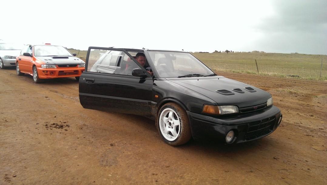 1993 Mazda Familia GTR