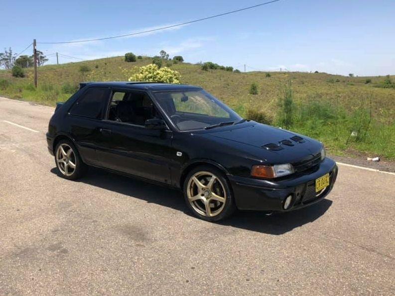 1992 Mazda Familia GTR (323)