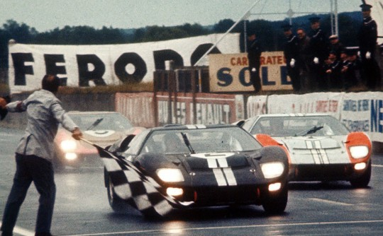 FORD VERSUS FERRARI, an astonishingly good car racing movie