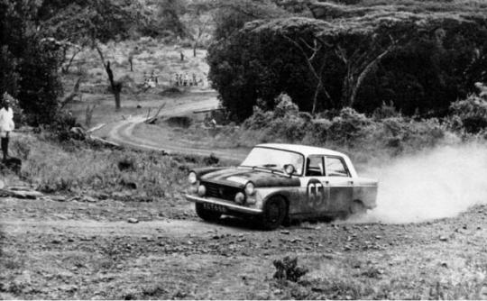 Peugeot 404 and the 1968 London to Sydney Marathon