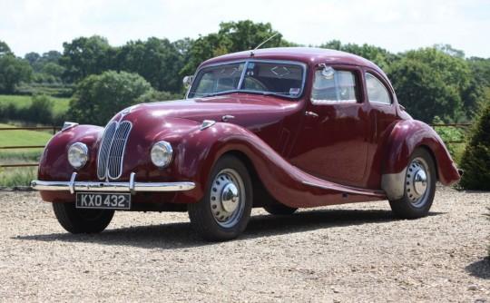 The Bristol 400 and its BMW Connection