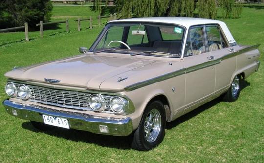 Compact Fairlane, precursor to Australia's V8 Valiants, Falcons and Holdens