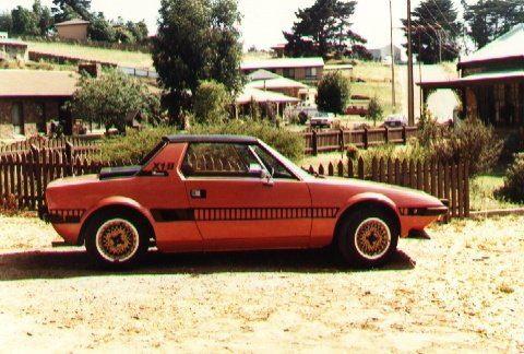 1975 Fiat X19