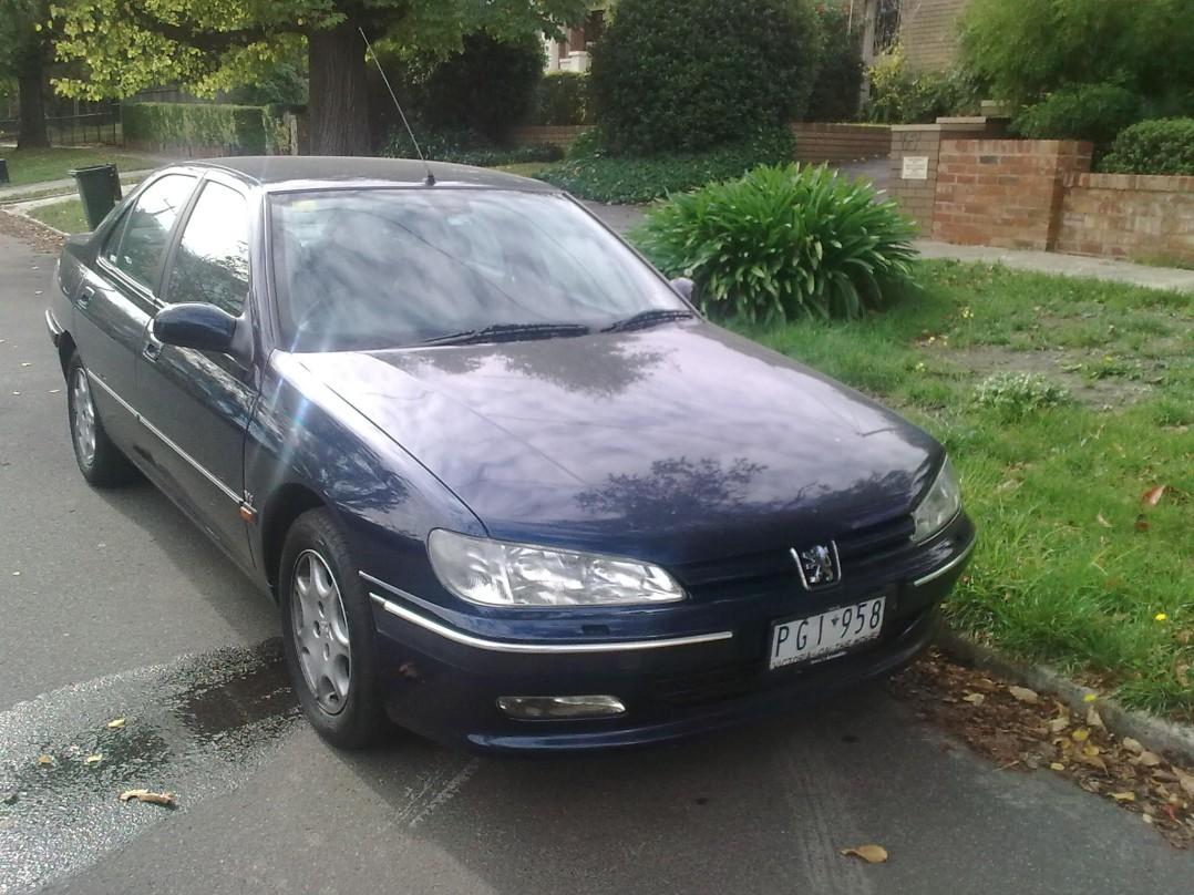 1996 Peugeot 406 SV