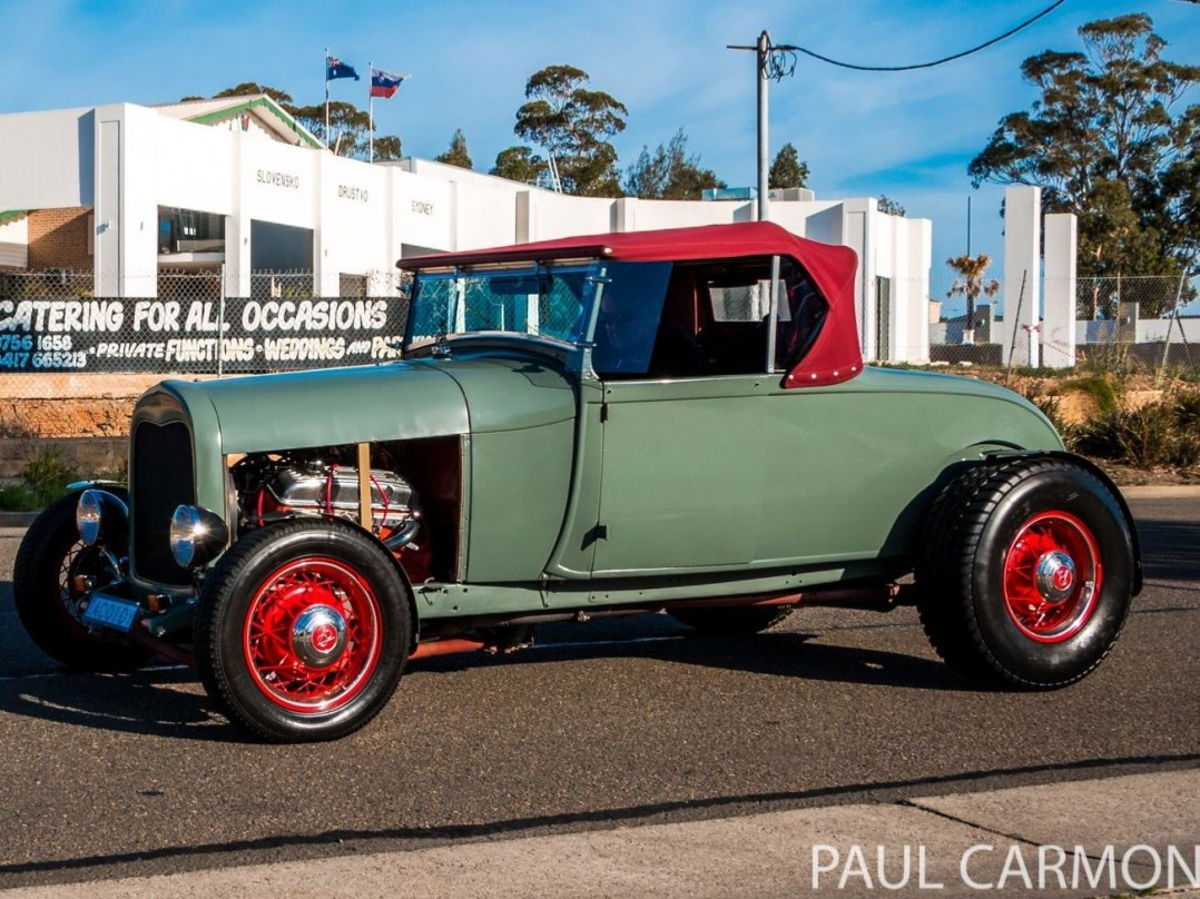 1929 Ford A Model Hot Rod