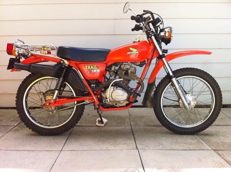1982 Honda 124cc CT125