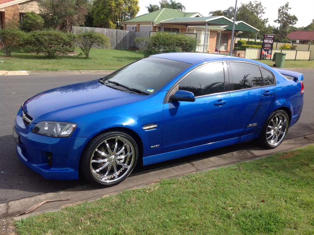 2009 SS ve commodore