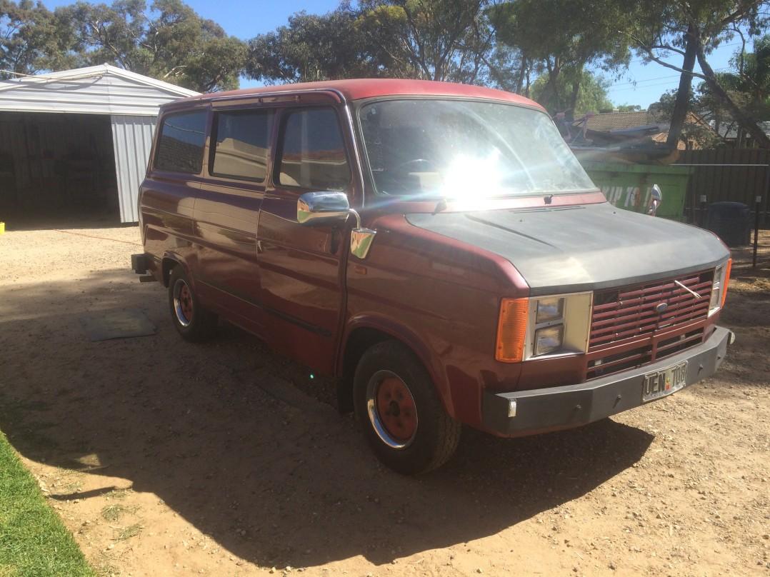 1981 ford TRANSIT (SWB)