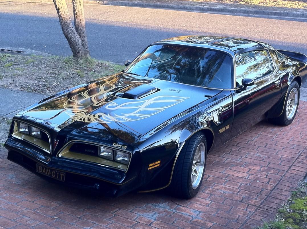 1977 Pontiac trans am Y82 SE