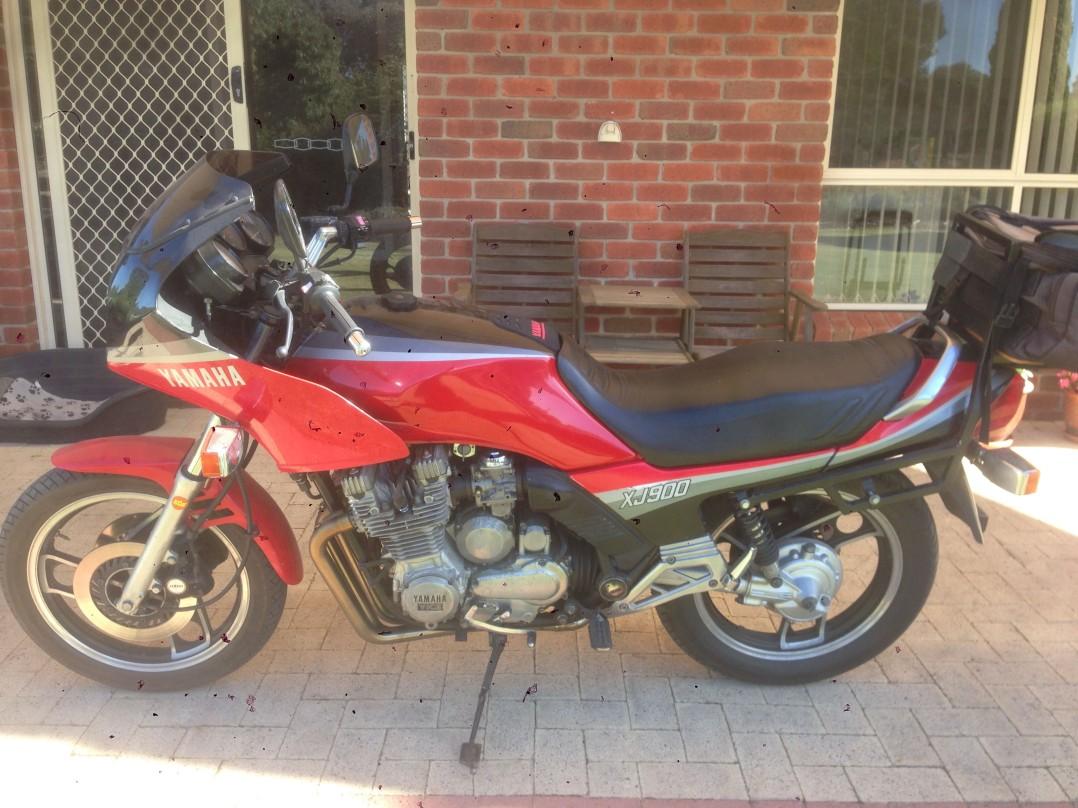 1985 Yamaha 891cc XJ900F