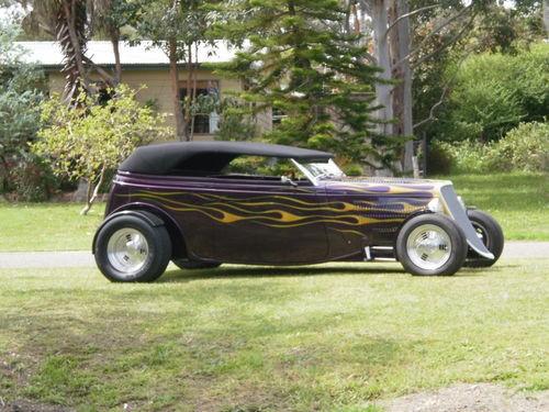 1933 Ford Victoria Phaeton