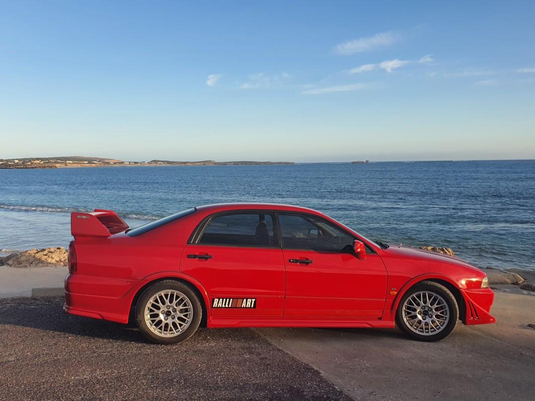 2002 Mitsubishi MAGNA RALLIART