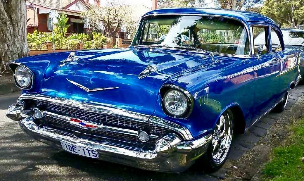1957 Chevrolet businessman