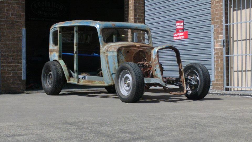 1934 Chevrolet Master Sedan DA - RustyDuck - Shannons Club