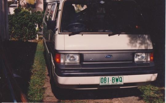 1989 Ford ECONOVAN LWB