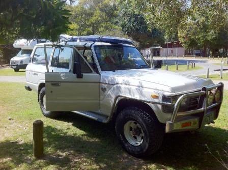 1989 Toyota landcruiser FJ62