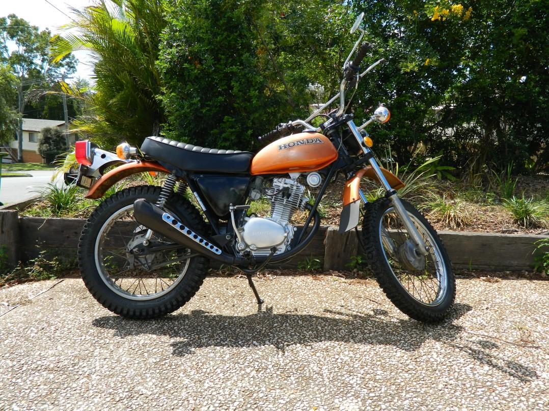 1974 Honda XL 100