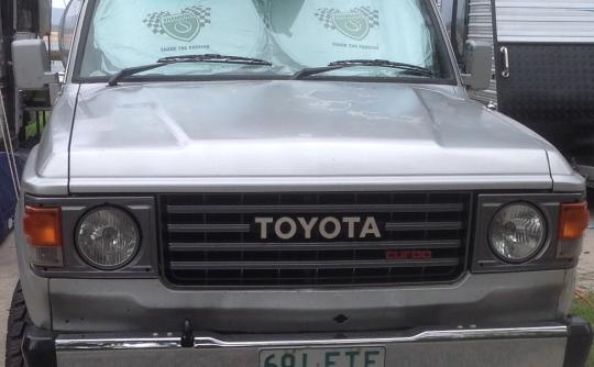 1986 Toyota LANDCRUISER (4x4) 6 SEAT