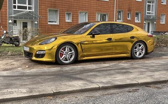 Goldfinger's Porsche Panamera: that's a wrap!