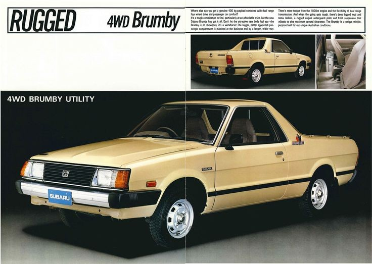 The 'other' Subarus: curiosities or collectable classics