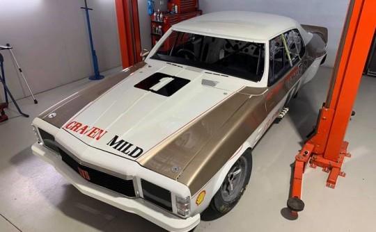 Nearing completion: Pete Geoghegan's mighty 'Craven Mild' Monaro Sports Sedan