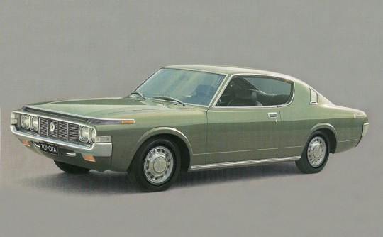 Toyota Crown Hardtop: cool-looking coupes we missed out on
