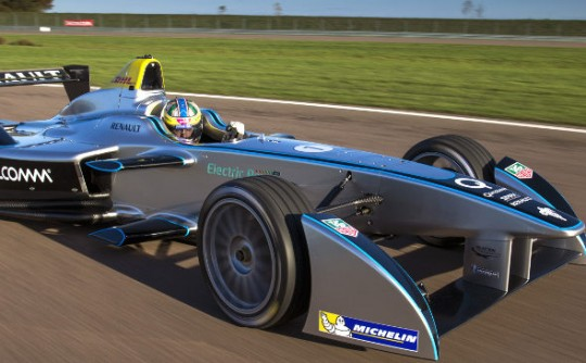 "Is fully electric power the future for a ""zero emissions"" Formula One?"