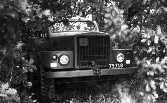 A cool Volvo: TP21 4x4 Military Vehicle