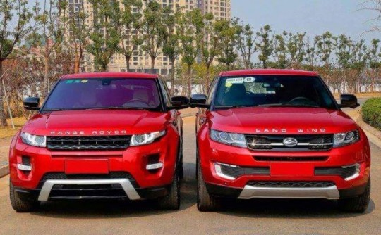 Range Rover vs Land Wind: when imitation is less than flattering
