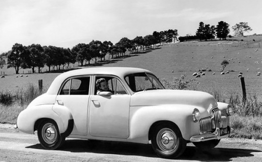 What cars did tall Aussies drive in 1948?