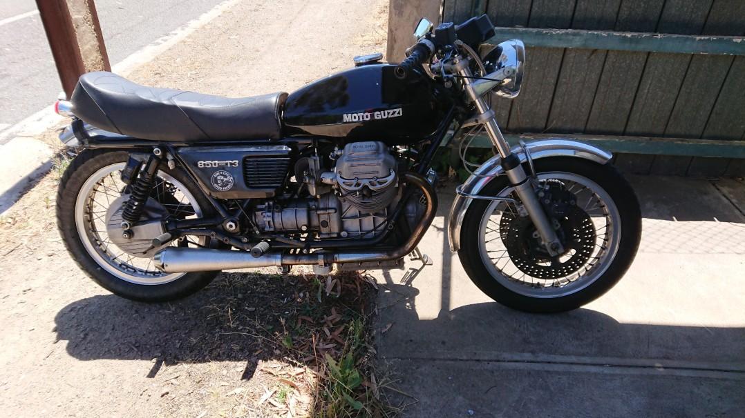 1975 Moto Guzzi T3 850