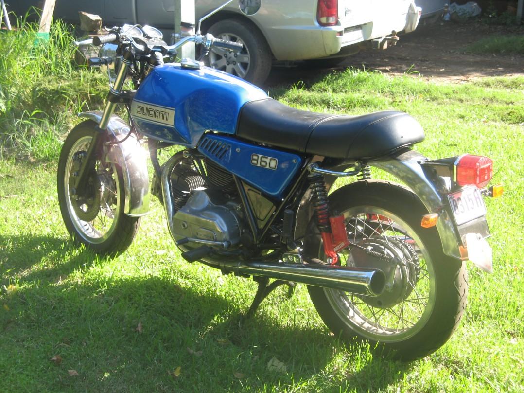 1975 Ducati 860 GT