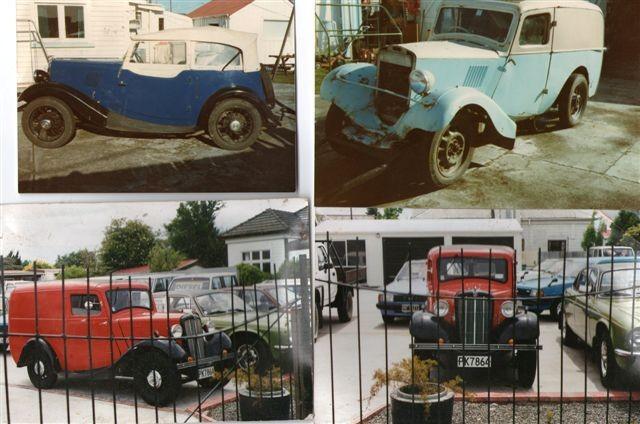 1937 Morris Eight 4 seat tourer