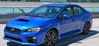 2016 Subaru IMPREZA WRX (AWD)